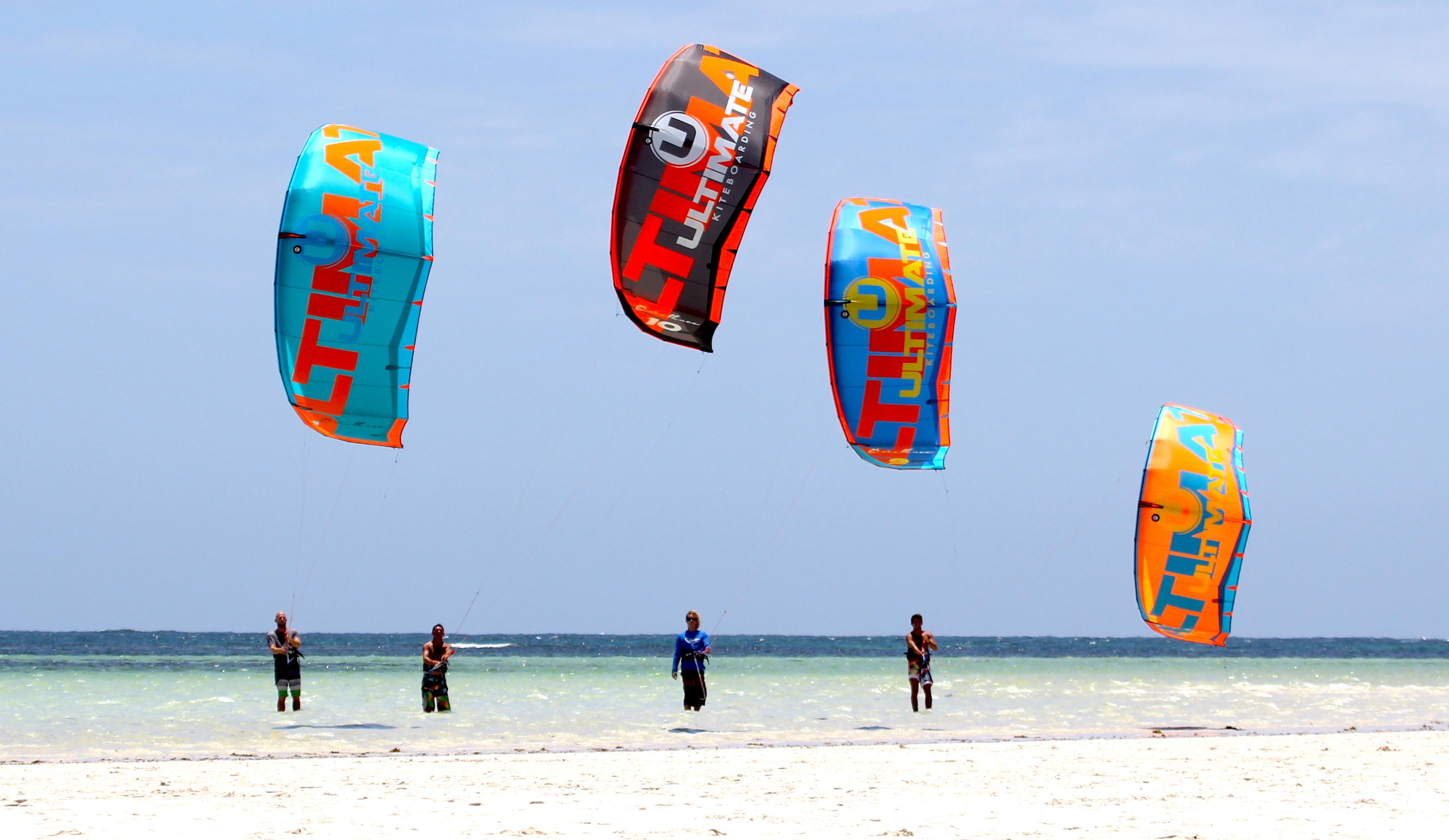 Ripartono i corsi di kitesurf